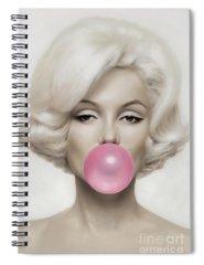 Marilyn Monroe Spiral Notebooks