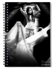 Belly Photographs Spiral Notebooks
