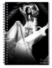 Belly Dancer Spiral Notebooks