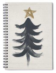 Christmas Tree Spiral Notebooks