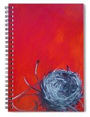 Empty Nest Spiral Notebooks