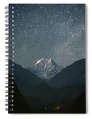 Mountain Spiral Notebooks