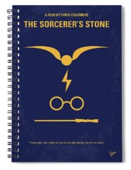 Harry Potter Spiral Notebooks