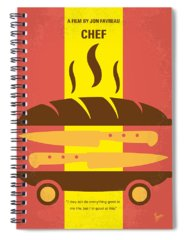 Chefs Spiral Notebooks