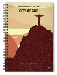 God Of War Spiral Notebooks