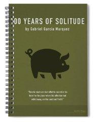 Hundred Mixed Media Spiral Notebooks