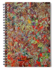 Abstract Expressionism Spiral Notebooks