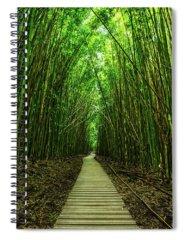 Bamboo Spiral Notebooks