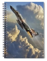 Jet Spiral Notebooks
