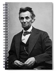 Abraham Lincoln Spiral Notebooks