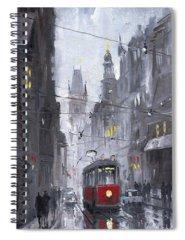 Raining Spiral Notebooks