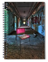 Asylum Spiral Notebooks
