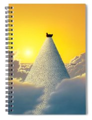 Egg Spiral Notebooks