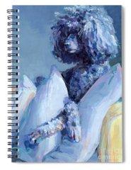 Poodle Spiral Notebooks