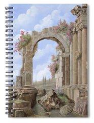 Roman Arch Spiral Notebooks