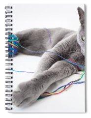 Yarn Spiral Notebooks