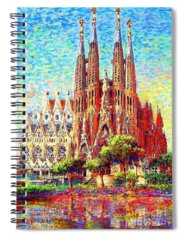 Temple Spiral Notebooks