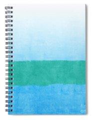 Coastal Spiral Notebooks