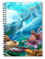 Sea Lion Spiral Notebooks