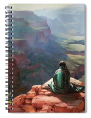 Grand Canyon Paintings Spiral Notebooks