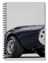 Cars Digital Art Spiral Notebooks