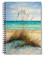 Grass Spiral Notebooks