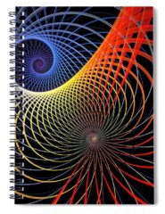 Apophysis Spiral Notebooks