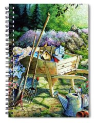 Garden Spiral Notebooks