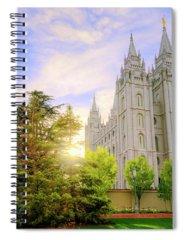 House Of God Photographs Spiral Notebooks