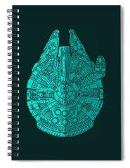 Bird Of Prey Spiral Notebooks