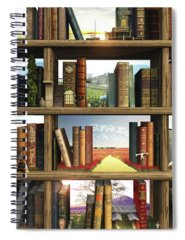 Imagination Spiral Notebooks