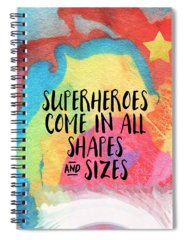 Superhero Spiral Notebooks