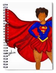 Superhero Spiral Notebooks