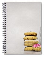 Milk Spiral Notebooks