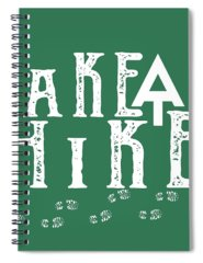 Hike Spiral Notebooks
