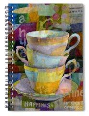 Tea Time Spiral Notebooks