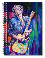 Keith Richards Spiral Notebooks