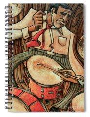 Drummer Spiral Notebooks