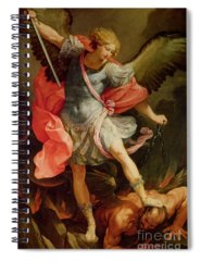 Putto Paintings Spiral Notebooks