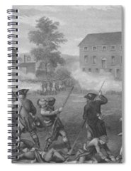 Revolutionary Drawings Spiral Notebooks