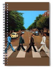 Rock And Roll Beatles Spiral Notebooks