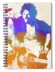 Music Rock N Roll The Boss Spiral Notebooks