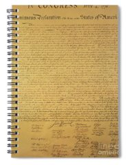 Us Constitution Spiral Notebooks