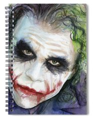 Joker Spiral Notebooks