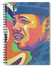 Legend Drawings Spiral Notebooks