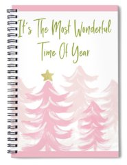 Time Mixed Media Spiral Notebooks