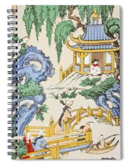 Decorative Drawings Spiral Notebooks