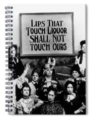 Prohibition Spiral Notebooks