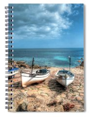 Boat Spiral Notebooks