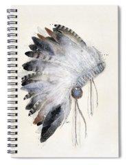 Headdress Spiral Notebooks